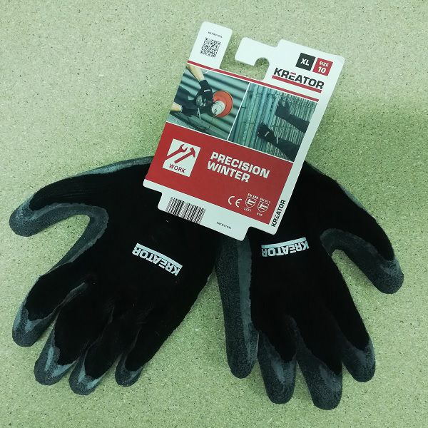 Gants protection winter precision